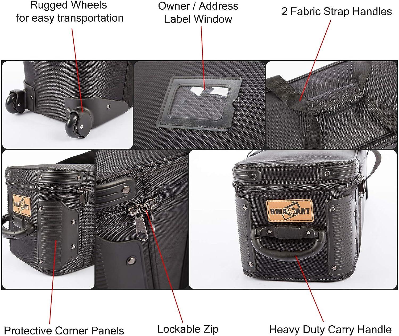 HWAMART /™ bolsa de tr/ípode de 101 cm Almohadilla de la c/ámara Tr/ípode de v/ídeo Carry Bag Case Alta calidad Carry And Protect