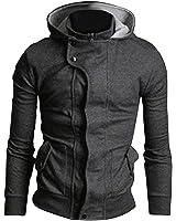 New Men's Slim Fit Outwear Hood Hoodies Sweatshirt Top Hoodie hoody Jacket Coat