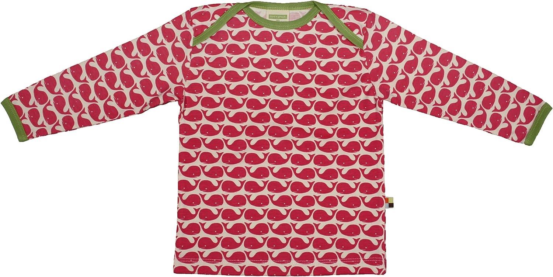 proud Baby-Jungen Longsleeve Shirt Allover Print Organic Cotton Langarmshirt loud