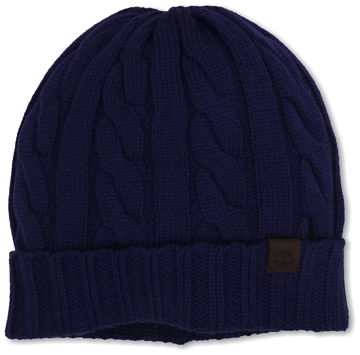 Timberland Men s Merino Wool Cable Knit Cuff Beanie at Amazon Men s  Clothing store  43be71449ede