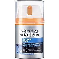 L'Oréal Men Expert Falten Stop, Gesichtscreme, mit hochdosierter Anti-Aging Wirkung und Feuchtigkeitspflege Soforteffekt gegen Minik-Falten (50 ml)