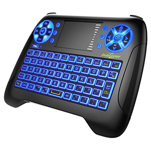 168 opinioni per Dootoper Wireless Mini tastiera con touchpad del mouse / 10 Meter Range / 76