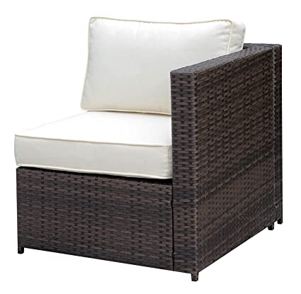 Amazon Com Benzara Bm183744 Faux Rattan Chair With Seat And Back
