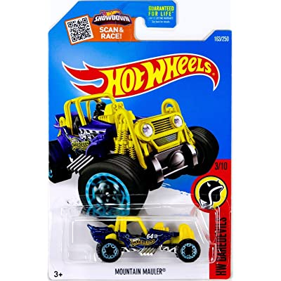 Hot Wheels, 2016 HW Daredevils, Mountain Mauler [Yellow] Treasure Hunt #163/250: Toys & Games