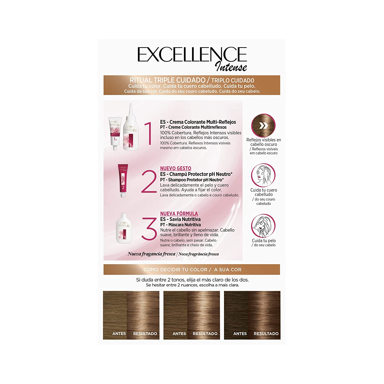 Amazon.com: EXCELLENCE INT 6.13 cool dark: Beauty