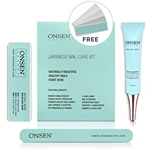 Unique Japanese Nail Care Kit - Professional Nail File, 3-Way Nail Buffer Block And Cuticle Cream With Free Replacement Pads For Perfect Nails - The Most Amazing Travel Size Nail Care Kit We Ever Made