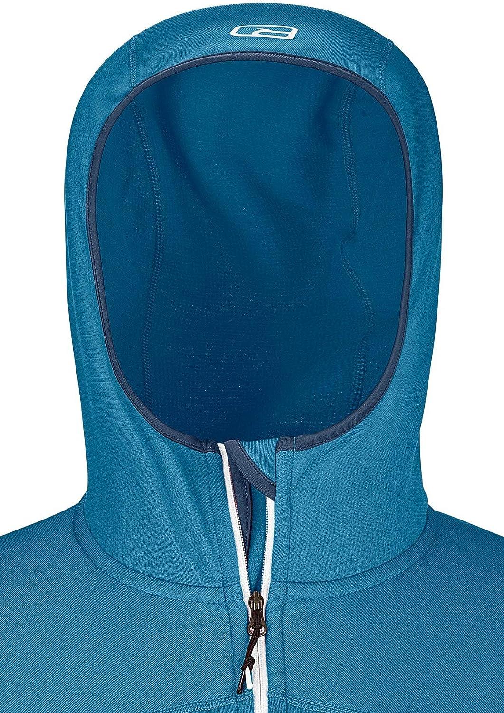 Mens Ortovox Merino Fleece Light Hooded Jacket