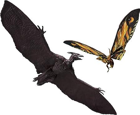 TAMASHII NATIONS Bandai S.H. MonsterArts Mothra (2019) & Rodan (2019) Set Godzilla: King of The Monsters, Multi (BAS57446)