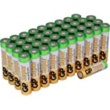 GP Super Alkaline Batteries| AAA | Bulk 40 Pack