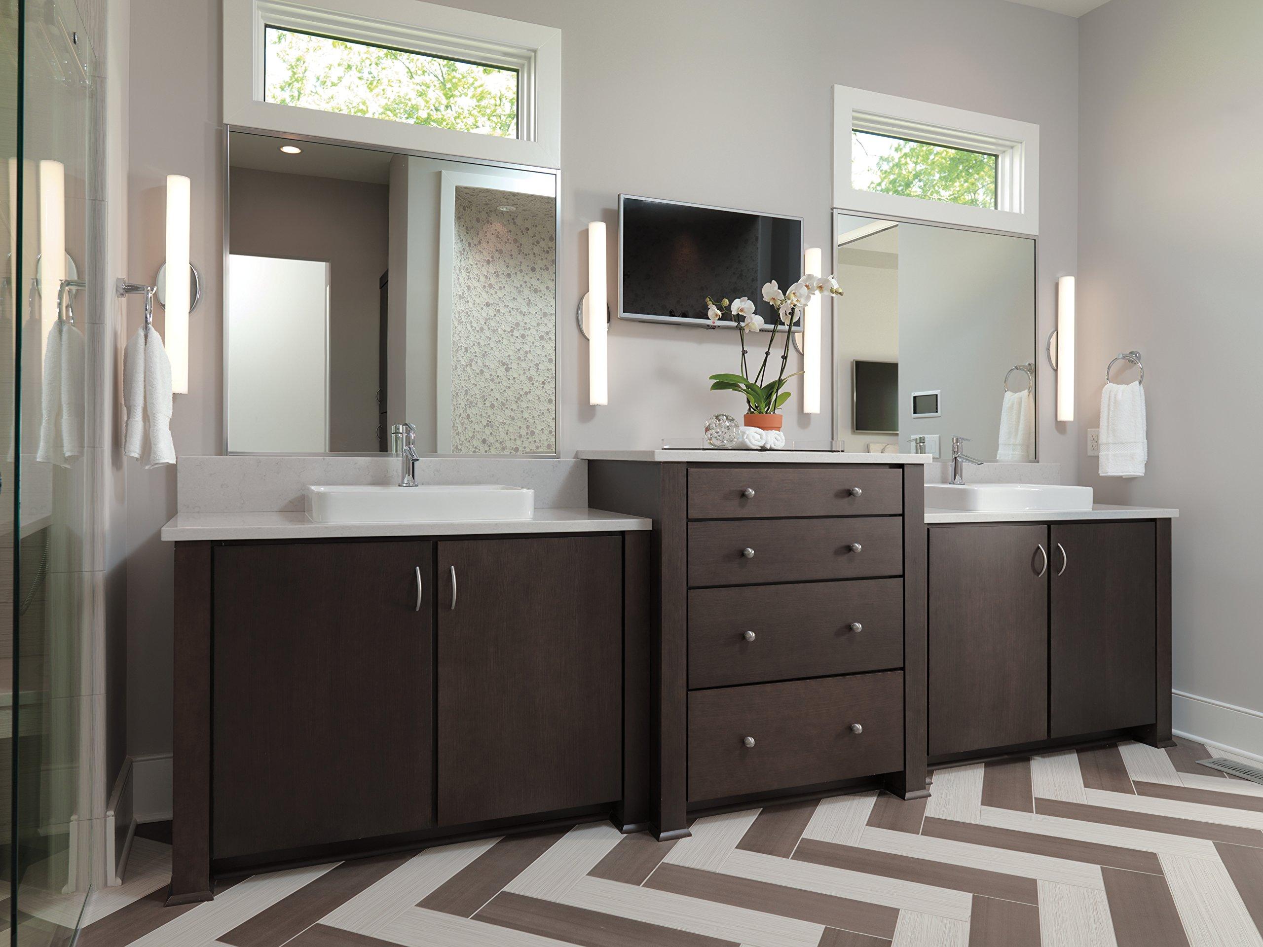 Delta 561-MPU-DST Compel Single Lever Handle Bathroom Faucet with Metal Pop-up Drain, Chrome