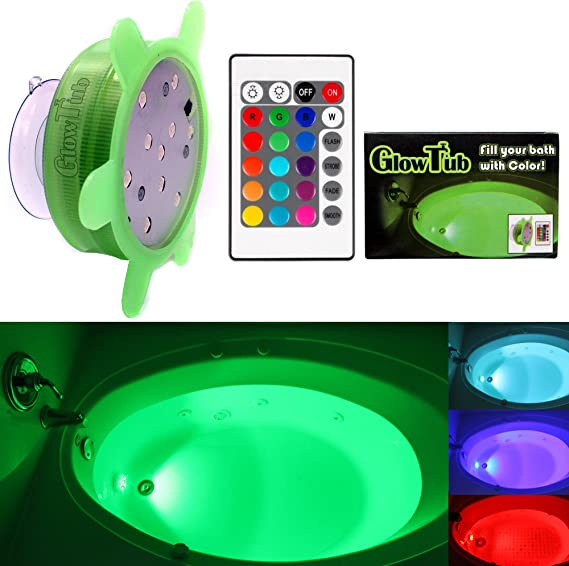 Battery Operated Bubble Submarine Toy Boat Bathtub LED Lights and Music Flashing