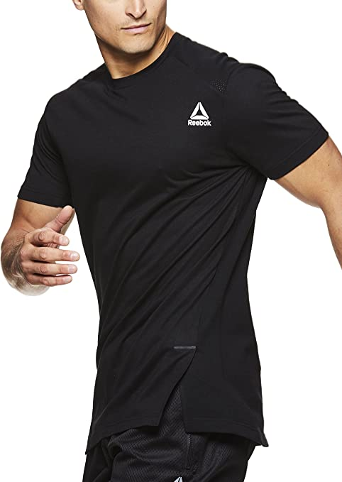 Reebok Hommes Crossfit Ventilé Crew Chaussettes Gym Entraînement Course Fitness Sport