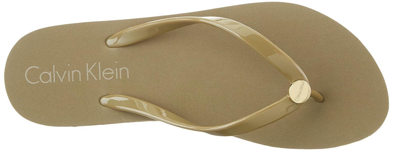 FF Sandal, Tongs Femme, Vert (Military Olive 302), 42 EUCalvin Klein Underwear