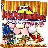 Ziyad Gourmet Halal Full Size, Multi-colored, Marshmallows, Fruity, Pork-Free, Egg-Free, Dairy-Free, Gluten-Free, 8.82 Oz