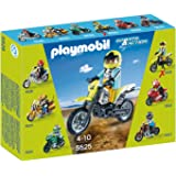 PLAYMOBIL Motocross Bike Set