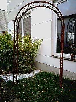 Zen Man 031473-1 - Pérgola para jardín (Metal Oxidado, Hecha a ...