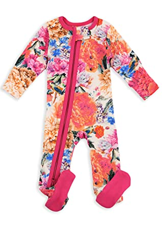 e5f752e40c5e Amazon.com  Earthy Organic Baby Pajamas 2-Way Zipper Sleeper Boy ...