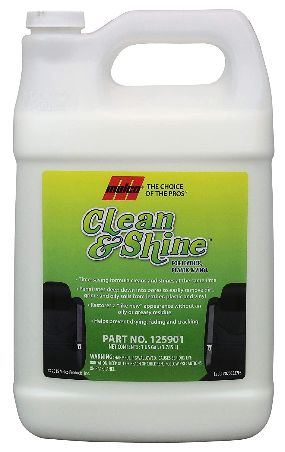 Malco Clean and Shine Interior Dressing - Gallon