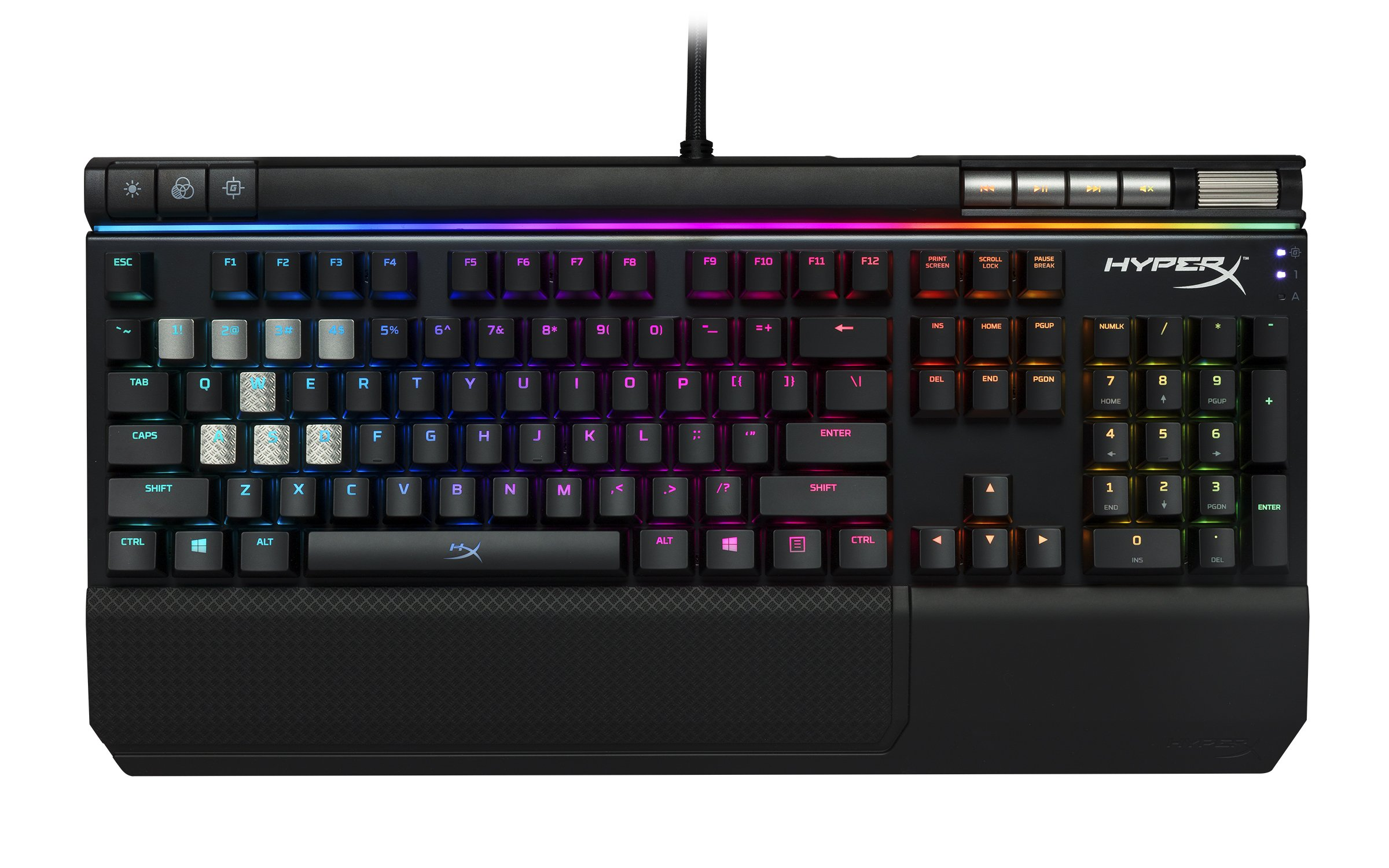 Teclado Mecanico : HyperX Alloy Elite MX Red