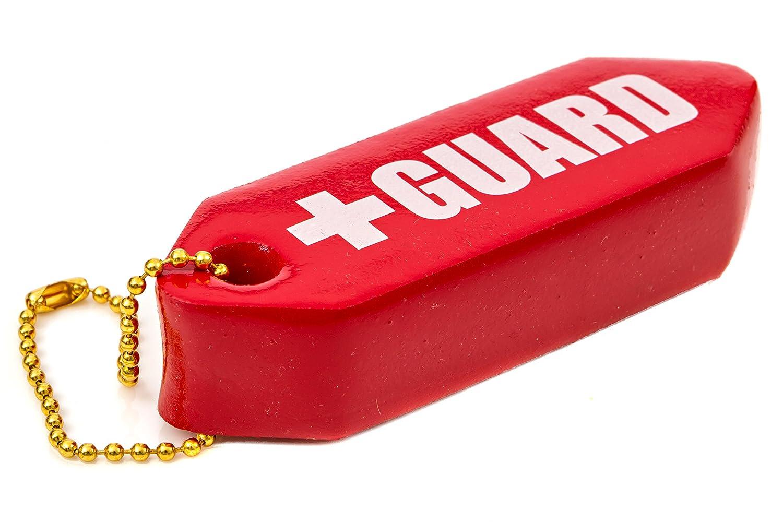 blarix Lifeguard Rescue Tubo flotador flotante de llavero clave cadenas: Amazon.es: Coche y moto