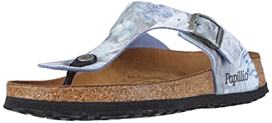 Papillio Gizeh Womens Sandals Birko flor Silky Rose Blue 304861