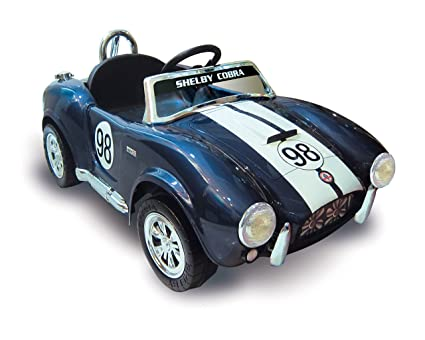 Kid Motorz 12V Shelby Cobra Limited Edition One Seater Vehicle, Blue