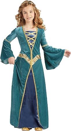 Disfraz Princesa Medieval (3-4 AÑOS): Amazon.es: Juguetes y juegos