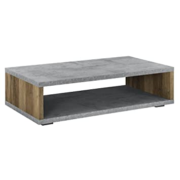 En Casa Table Basse Moderne Plateau Mdf Pieds De Table En