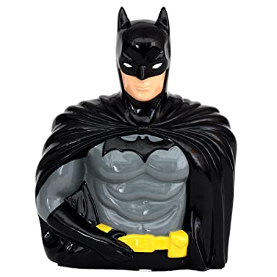 Official Brand New Batman Coin Bank in a Colored Box- One Size: Toys & Games