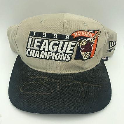 Rare Tony Gwynn Signed 1998 National League Champions San Diego Padres Hat  - PSA DNA 610af2f6dd1