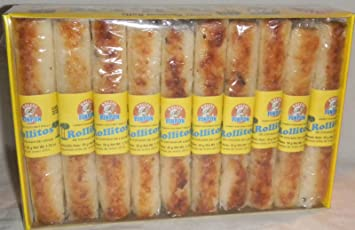 Coconut Milk Rolls Mexican Candy - Rollos De Cocada De Leche 20 Pieces Sealed