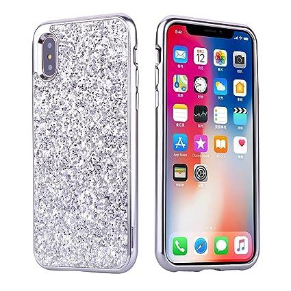 iphone x coque brillante