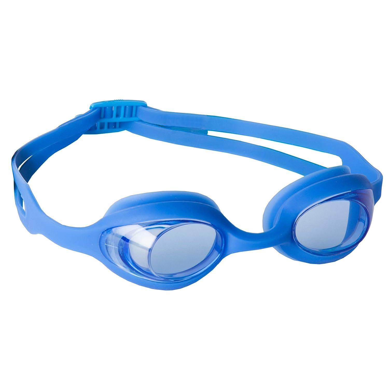 ウルトラスポーツキッズスイミングメガネと調節可能なヘッドバンド付きゴーグル - ブルー   B0078MMGKK