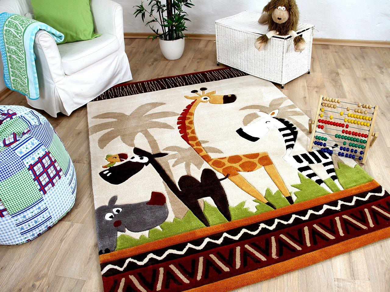 Amazon.de: Lifestyle Kinderteppich Beige Safari !!! Sofort Lieferbar !!!