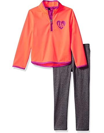 6d928c0d045b Under Armour Girls  Little Track Jacket and Pant Set