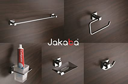 JAKABA Rebko Premium Quality 5-Pieces Fully Br Bathroom ... on furniture accessories, croscill mosaic leaves bath accessories, west elm slate bath accessories, house accessories, shower hose, bedroom accessories, outdoor accessories, home accessories, shower trays, travel accessories, shower panel, bath screens, hand shower, bathtub accessories, shower accessories, bathroom cabinets, sink accessories, interior design accessories, outdoor spa, shower doors, jewelry accessories, shower cabin, bathroom vanities, shower enclosure, shower room, pantry accessories, room accessories, whirlpool bathtub, bath tubs, spa accessories, closet accessories, shower head, fireplace accessories, office accessories, spa bathtub, toilet tank parts, cleaning accessories,