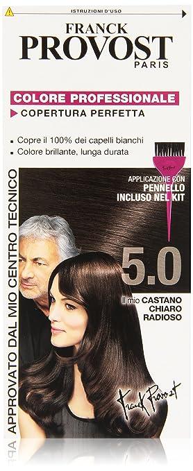4 opinioni per Franck Provost Colore Professionale Copertura Perfetta, 5.0 Castano Chiaro