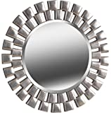 Kenroy Home Gilbert Home Décor, 36 Inch Diameter, Large, Silver
