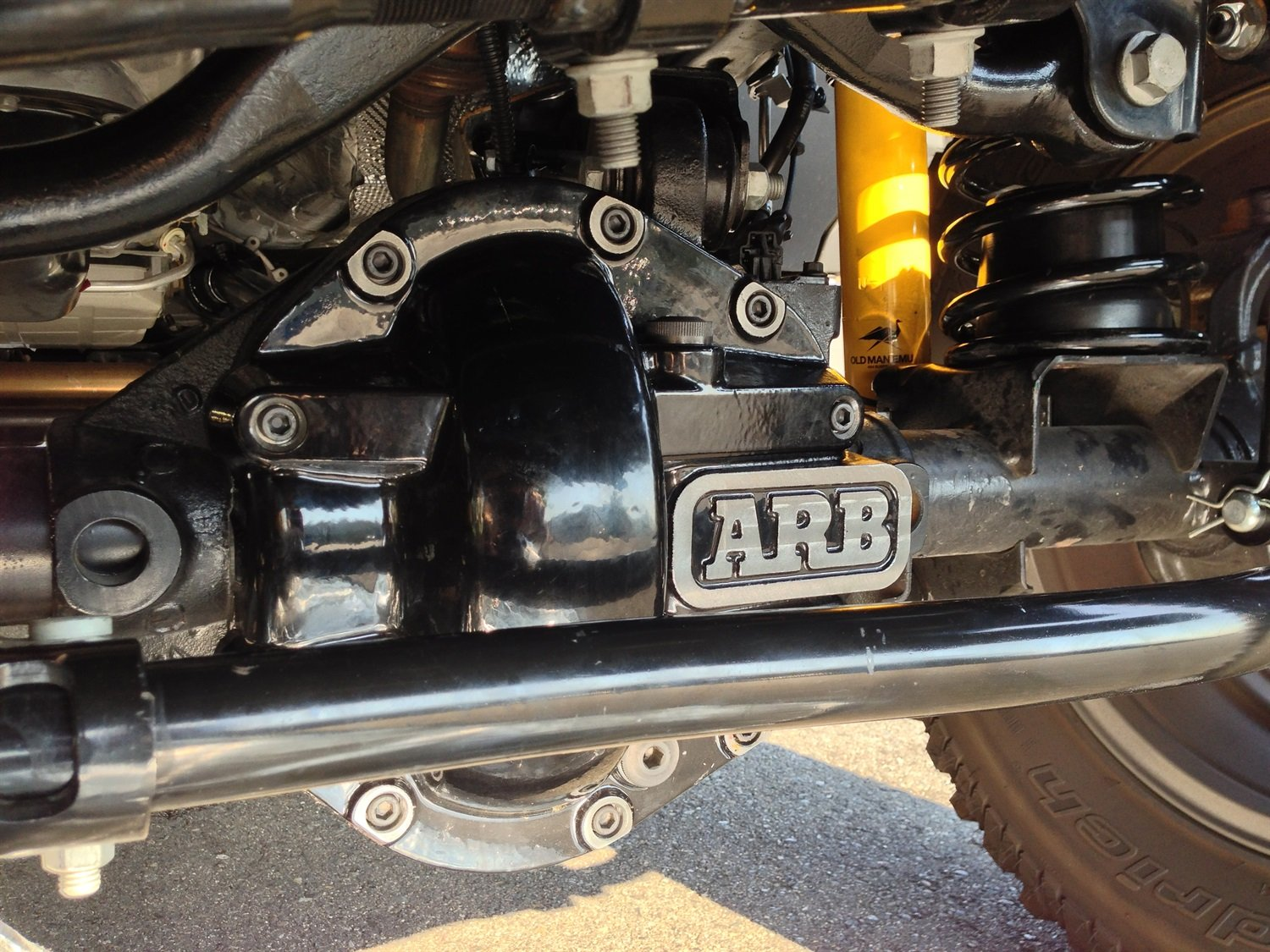 ARB 0750005B Differential Cover
