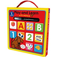 Play and Learn with Wallace: Workbook Box Set: Includes 5 Wipe-Clean Books