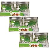 Ball Collection Elite Wide Mount 16Oz Pint Jars (Pack of 12)