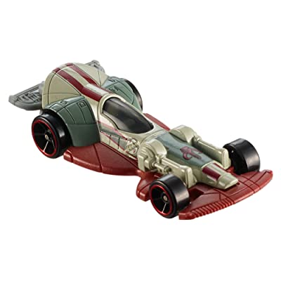 Hot Wheels Star Wars Boba Fett's Slave I Carship Vehicle: Toys & Games