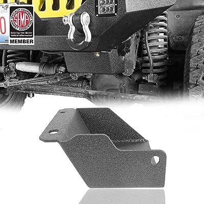 Hooke Road Steering Box Skid Plate Brace for 1997-2006 Jeep Wrangler TJ: Automotive [5Bkhe2006070]