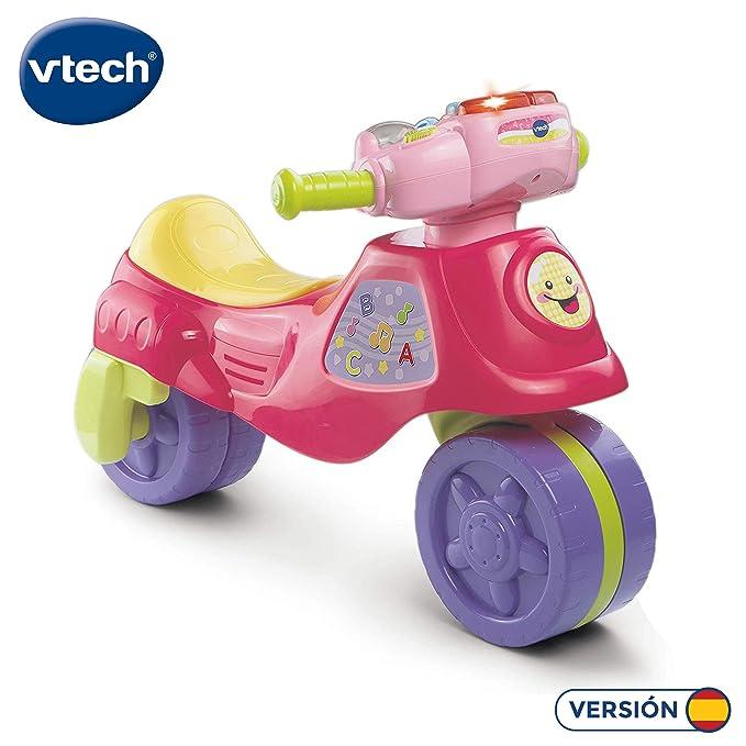 VTech - Super moto correpasillos electrónica 2 en 1, color rosa (80-181757)