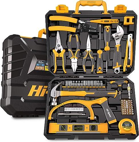 Hi-Spec 75-Piece Home & Garage Tool Kit