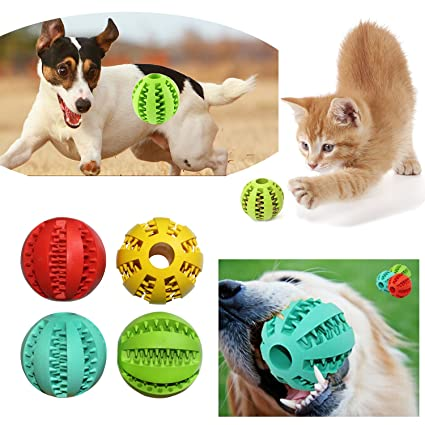 New Pet Dog Rubber Chewing Treat Toy Animal Chewer Pressure Relief Toy Food Dispenser Dog Supplies Dog Feeding Pet Products