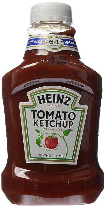 Heinz Tomato Original Ketchup, 64 Ounce Bottle (Value Size)