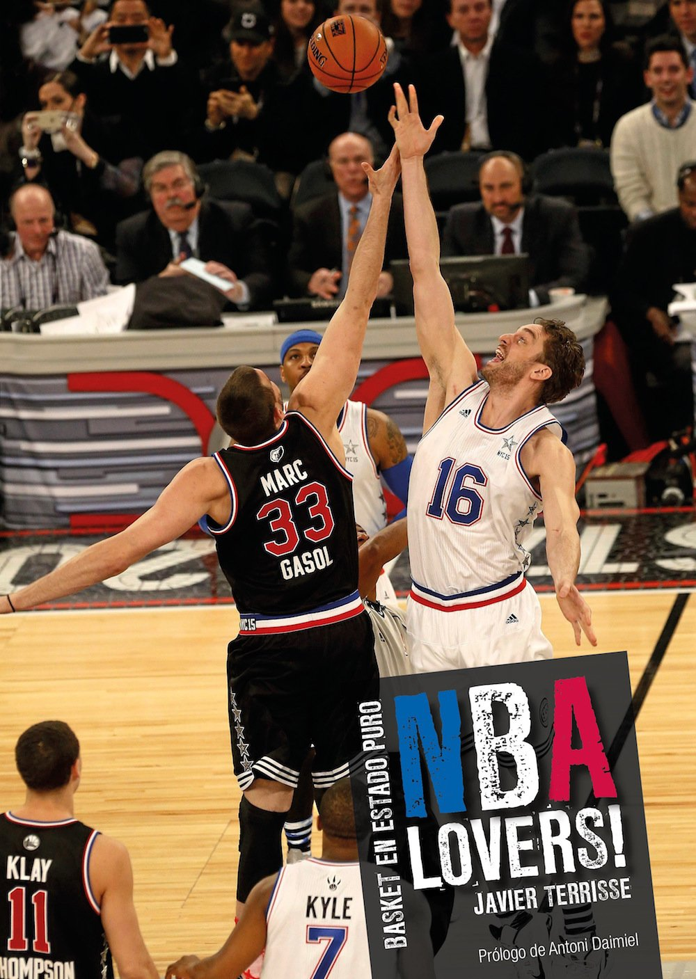 NBA Lovers Tapa dura – 19 may 2016 Javier Terrisse Córner 849441836X Basketball - General