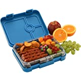 WonderEsque Bento Lunch Box - Leak-Proof Lunch Container - For Kids and Adults (DARK BLUE)