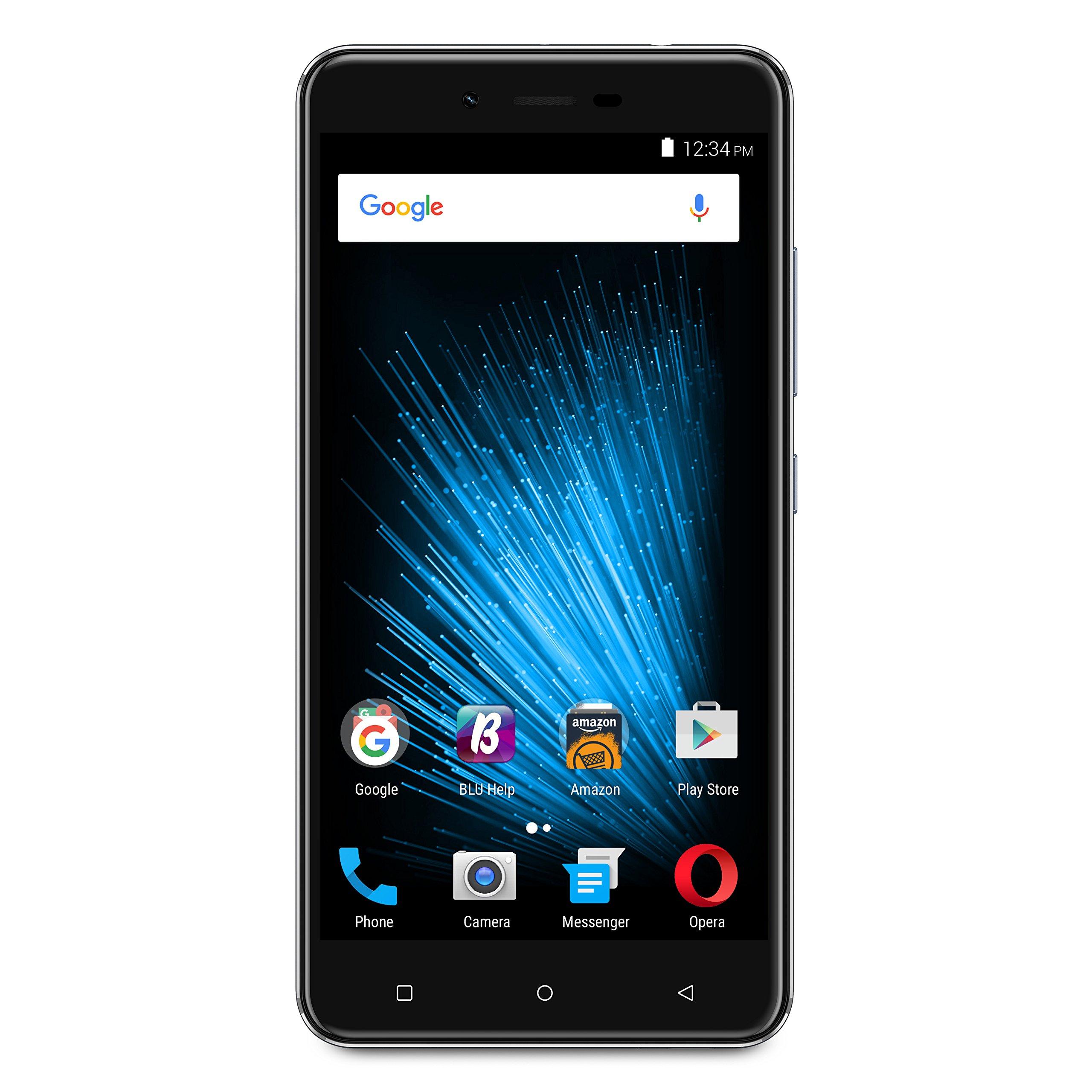 BLU VIVO XL2 - 5.5'' 4G LTE GSM Unlocked Smartphone  - 32GB+3GB RAM -Blue